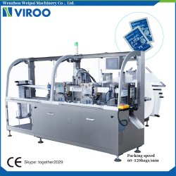 Vpd250 4側面のシールアルコールパッドの包装機械
