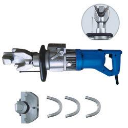 Draagbare Elektrische Rebar Buigmachine Rb-16 Buigende Hulpmiddelen van de Staaf van de Bouw van de Hand van de Hoge Efficiency de Mini