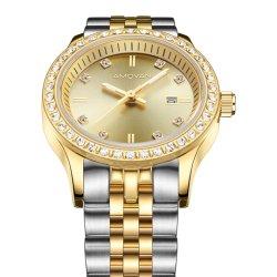 Form Frauen und Dame Quartz Watch mit den leuchtenden Händen