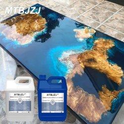 Epoxidharz-Gussteil für Fluss-Tisch