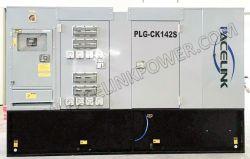 130kVA Cmis Powered Silent 디젤 발전기, CE/ISO Economic 포함 회색