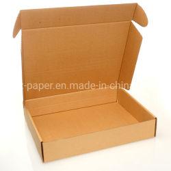 Упаковка упаковочная коробка с гофрированной картонной платой Доставка почтовых пакетов по заказу Белая Литература Maile Box