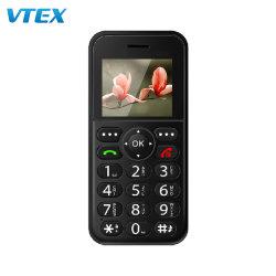أقل سعر 1.77 بوصة كبار السن إلغاء قفل الهاتف هدية OEM 600 مللي أمبير ساعة كبيرة البطارية 10 أيام ستانby كبار GSM الهاتف المحمول