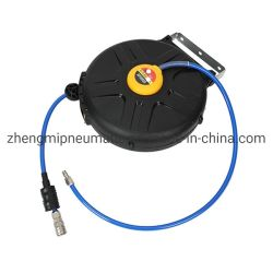 بكرة خرطوم الهواء لإسطوانة تمديد الزنبركية تلقائيًا مع رذاذ فوهة (8*5 مم*8 م)