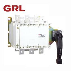 التشغيل اليدوي الكهربي مفاتيح النقل البيضاء للمفتاح الدوار
