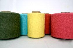 21s цветов из переработанных хлопчатобумажная пряжа для вязания циркуляр машины
