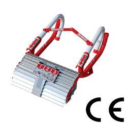 Ok-3sn Three-Story Passo de alumínio de emergência de incêndio dobrável para escapar da escada de emergência Pt131 Standard