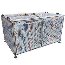 Radiador de CNC estampado en relieve el perfil de aluminio 2020 Escudos térmicos de la placa de transferencia de disipador de calor del perfil de las piezas del refrigerador