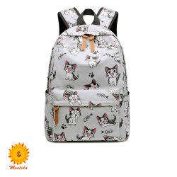 Fashion Mini Backpacks Travel Girls Cute Cat Custom Full Printing Schooltassen Rugzak Groothandel