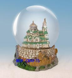 La resina Waterball en Polyresin turistas regalos