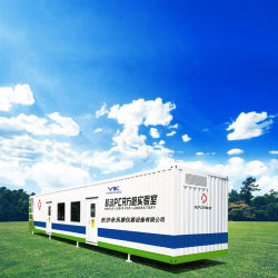 China Factory Hot Selling Polymerase Chain Reaction Mobile Container Chamber PCR Laboratory, Movable and Comprehensive PCR Laboratory Chamber Nucleic Acid Test