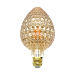 مصباح LED بالفتيلة على شكل فراولة G95 بقدرة 4 واط