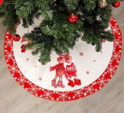 Decorazione rustica spessa di festa di natale del cavo di lusso del pannello esterno 120cm dell'albero di Natale