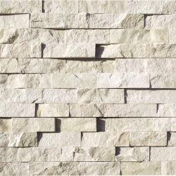 야외 장식 정원 벽 흰색 문화 벽 천연 석재 클래딩