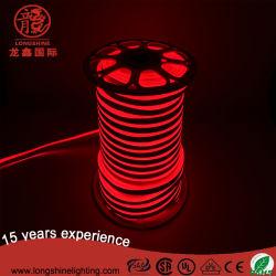 1m rouge de l'unité de coupe 2835 Chip 120LED Lampes au néon de Flex de la lumière avec ce RoHS