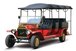 11 Sitzelektrisches Fahrzeug-touristisches Doppelventilkegel-Auto für Passagier-Transport