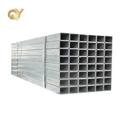 ASTM A36 50X50 tuyau en acier carré Shs ers 40X80 Gi creux carré Section rectangulaire