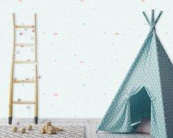 침실 훈장 벽지 룸 장식적인 홈 최신 3D Chinoiserie 롤 목욕탕 벽돌 하늘 비닐 PVC 우단 무리는 종이 천장 고품질 벽 거품이 인다