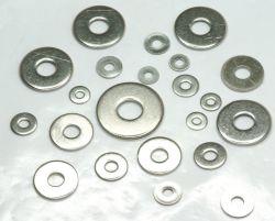 Rondelle plate DIN125, DIN, DIN9021440 SAE, USS, acier inoxydable A2 A4, et la rondelle ressort DIN127