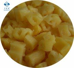 In Büchsen konservierte Ananas