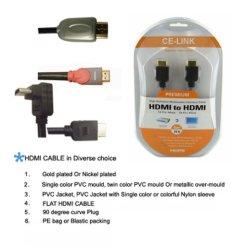 MHDMI und DVI Cablesetallurgical Grad-Fluorit