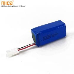 772752 batteria agli ioni di litio ricaricabile 11,1 V 1250 mAh per Spia della bicicletta del Power Bank