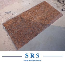 천연 화강암 석재 중국 타일 포장 석재 메이플 레드 그래나이트 (G562) 바닥용