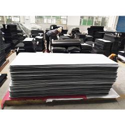 High Quality White Blank Natural Rubber Sheet Roll met suède Oppervlak
