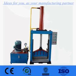De verticale Hydraulische RubberSnijder van de Baal/Rubber Scherpe Machine