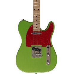 Red Pearl Pickguard OEM de madeira sólida bela guitarra eléctrica