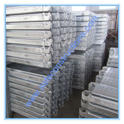 Panneau durable sûr en métal d'échafaudage pour la construction