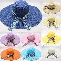 Commerce de gros Custom chapeaux de paille de 100 % de femmes un lecteur de disquette du chapeau de paille de papier avec bande de tissu à mailles Mesdames Sombreros de Paja Chapeau