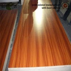 Couleur/couleur solide en bois Mélamine MDF