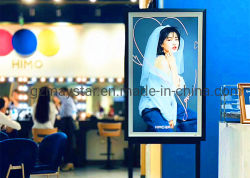 Cornice In Legno Loop Video Foto Play Big Size Lcd Digital Photo Frame / Lcd Art Gallery Display Per Pittura Ad Olio