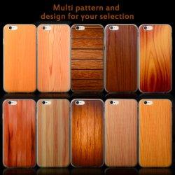 Plastik-TPU Handy-rückseitiger Deckel-Zellen-Fall des kundenspezifischen Druck-hölzernen Entwurfs-für iPhone 6 S plus, für Apple iPhone 6 Fall