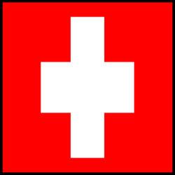La Suisse avec cordon d'alimentation standard de +s de trois types de certificat