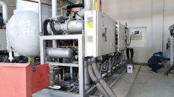 Unità di refrigerazione di condensazione del compressore della cascata del CO2 con Ce per uso della cella frigorifera