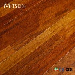15/14mm de espessura do piso do dedo/ Merbau/ 3 tiras de Camada 3 Projetado com pavimento em madeira lacada UV/E0/TG F4 estrelas standard
