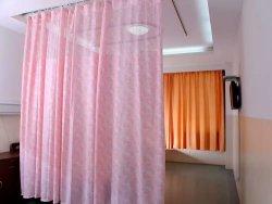 Двойные боковые шторки конфиденциальности больницы печатной платы