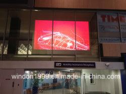 El 92% de la ventana de proyección trasera holográfico de transmitancia de publicidad de películas