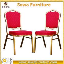 Mayorista de Foshan banquetes mobiliario silla de hierro de apilamiento