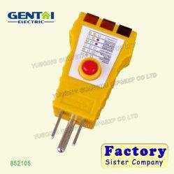 Réceptacle de sortie de bonne qualité GFCI testeur (852105)