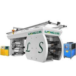 6 El Color de alta velocidad de máquina de impresión Flexo Ci