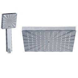 Пластик ABS квадратных накладных душ головки блока цилиндров