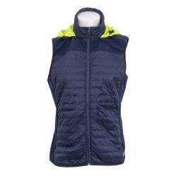 Mesdames Outdoor gilet d'hiver veste matelassée sans manches Veste Gilet Hoody