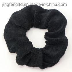 OEM Custom Assortedc Fashion fille cheveux noirs titulaire Soft Scrunchies avec tous les couleur de cheveux