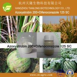 Azoxystrobin 200+Difenoconazole 125 Sc-Azoxystrobin+difenoconazole (200g/l+125g/l) - het mengsel van het Fungicide