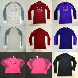 Commerce de gros personnalisés L-I-V-E-R-P-O-O-L maison loin de chemises maillots de football de Football de tiers
