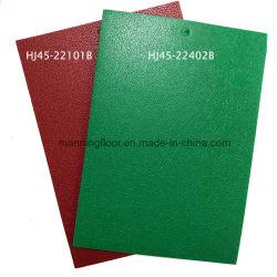 Desportos de PVC antiderrapantes piso piso de vinil para ténis de mesa de ténis de badminton concorrência espessura 4,5mm Hj45 Series