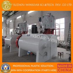 800/2500 poudre PVC en plastique haute vitesse Turbo Mélangeur/matières premières Blender